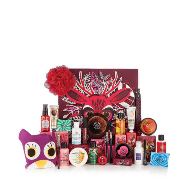 body shop adventskalender deluxe